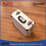 Caixa de ferramentas Shockproof da liga de alumínio da caixa do instrumento de precisão da liga de alumínio
