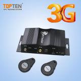 Inseguitore di GSM GPRS 3G GPS per il parco che segue con la macchina fotografica (TK510-ER)