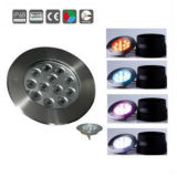 luz de la piscina de 12With36W LED Underwatern, lámpara subacuática