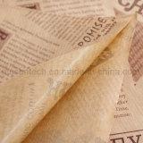 À prova de graxa levar embora o almoço do papel de embalagem do alimento do cozimento carreg sacos