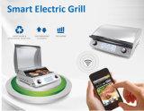 Griglia elettrica astuta del BBQ di controllo di WiFi con i certificati del Ce ETL