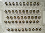 ばねの接触の硬貨の振動モーター(C1027BTF03)