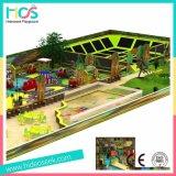 Оборудование спортивной площадки детей дома вала крытое с Trampoline (HS15101)