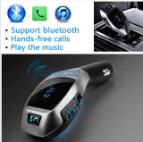 Chargeur émetteur FM mains libres de Bluetooth du nécessaire sans fil USB de véhicule