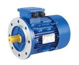 motor de alumínio da carcaça da eficiência elevada de 1.1kw Ie2/Me2