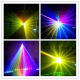 Lumière polychrome chaude de Pub du DJ d'usager de système d'exposition de laser de l'animation 1W