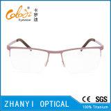 Telaio dell'ottica di Eyewear di vetro di titanio Semi-Senza orlo leggeri del monocolo (8104)