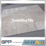 Mattonelle esterne del travertino della pietra bianca popolare del travertino per la pavimentazione