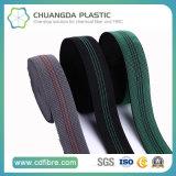 Umweltfreundliches pp.-elastisches gewebtes Material verwendet in den Sicherheitsgurten