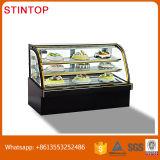 Bolo Refrigerated anúncio publicitário do indicador, refrigerador do Showcase do bolo/Showcase Refrigerated da padaria