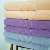 Essuie-main 100% de vente chauds de coton de couleur solide pour Bath