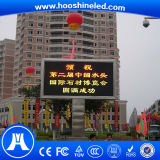 Visualización de LED amarilla larga del taxi del color de la vida útil P10 SMD3528