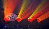 LED 19*15W 꿀벌 눈 LED 이동하는 맨 위 광속 빛 세척 단계 점화