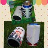 La sublimación de encargo de la cerveza puede refrigerador, titular Stubby, neopreno botella Koozie (BC0076)
