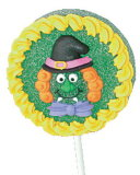 Конфета шипучки большого студня Halloween мягкая на часы досуга