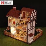 2017 Nuevo Diseño Niños Educativo de madera casa de muñecas