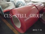 Prepainted гальванизированные стальные катушки листа PPGI стальные/цвет покрынная стальная катушка