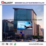 P4/P6/P8/P10/P16 signe visuel avant extérieur fixe d'étalage de panneau d'écran de la maintenance DEL pour la publicité