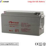 batterie de gel de 12V 150ah pour le bloc d'alimentation avec Ce/IEC/ISO