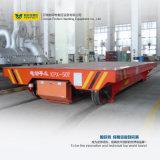 Gleichstrom-Motorantriebsschienen-Fahrzeug-Ladeplatte, die Lastwagen handhabt