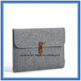 شباب تصميم مادة جديد من 70% راضي صوف لباد الحاسوب المحمول كم, صنع وفقا لطلب الزّبون [بورتبل] الحاسوب المحمول محفظة حقيبة مع زرّ إقفال
