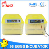 Hhd 이중 힘 자동적인 소형 계란 부화기 Yz-96