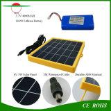 Indicatore luminoso di inondazione solare portatile esterno 5W con 54PCS la maniglia solare dell'interno della lampada di inondazione della carica di CA di luminosità LED che pesca illuminazione solare