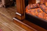 スマートな現代木LEDはつけるヒーターの寝室の電気暖炉(333S)を