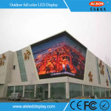Alta pantalla al aire libre a todo color del brillo P10 LED para hacer publicidad