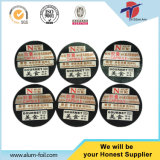 Die Cut Piece Type e Embossed Treatment K-Cup Foil Lids