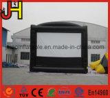 Экран киноего прочного экрана репроектора PVC напольный раздувной рекламируя