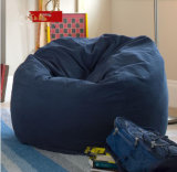 大人の不精な男の子のキャンバスまたはスエードの物質的なカバーのための不精な袋のソファーの豆袋または豆袋の椅子