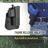 Glock 19 Holsters van de Versie van de Duim