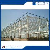 Пожаробезопасным и водоустойчивым гальванизированная Prefab мастерская стальной структуры