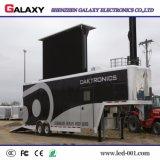 移動式広告のためのトラックのLED表示スクリーン、移動式LEDの掲示板