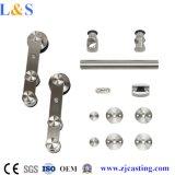 Ferragem quente da porta deslizante de aço inoxidável dos projetos (LS-SDU-9206)