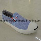 Ботинки впрыски холстины женщин Slip-on с хорошие качеством (FFZL1101-02)