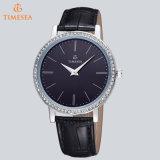 Montre neuve 71147 de quartz de montres de Rhinestone de femmes de Madame montre d'acier inoxydable de marque