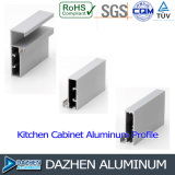 Perfil personalizado do alumínio do alumínio 6063 para industrial anodizado