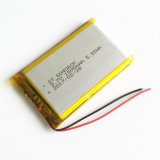 клетки иона Li батареи Lipo полимера лития 3.7V 1500mAh 604060 перезаряжаемые на камера 6*40*60mm мобильного телефона пусковой площадки MP3 DVD