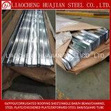 Hoja acanalada galvanizada sumergida caliente del material para techos para el material de construcción