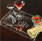 アクリルの皿の茶皿およびコーヒーテーブルの皿の朝食の皿のゆとりのアクリルのサービングの皿