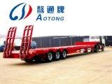 Aanhangwagen van de Lader van de Leverancier van China de Nieuwe Lage Flatbed Semi