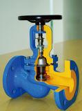 Roheisendampf verwendete LÄRM-Gebrüll-Kugelventil