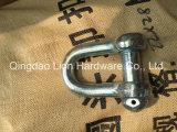 合金の等級Sの弓ねじCollor Pinおよび安全タイプ鎖の手錠