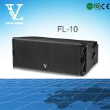 FL-10 ligne haut-parleur extérieur de haut-parleur du double bidirectionnel professionnel 10 '' d'alignement