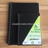 A5 PP 나선 노트 개인적인 4를 - -1 프로젝트 노트북에서 - 인쇄하는 줄무늬