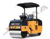 Doppelte Trommel-Stahlrad 2 Tonnen-Minivibrationsrolle (YZC2)