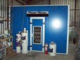 Pintar o quarto de mistura/estação de mistura do quarto/preparação