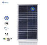 Buona qualità e comitato solare di rendimento elevato 30W per l'indicatore luminoso del giardino